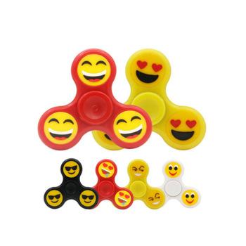 make your own yellow emoji fidget spinner in bulk buy fidget