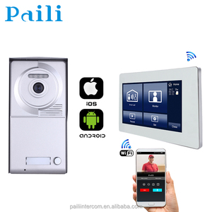 wireless ip intercom system access control system video door phone