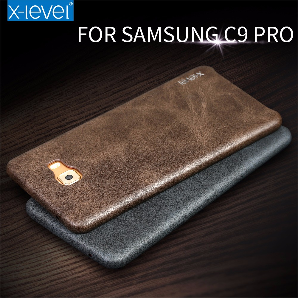 new concept f8cc7 bcffd Xlevel Luxury Vintage Leather Phone Cases For Samsung Galaxy C9 Pro Back  Cover - Buy Cases For Samsung Galaxy C9 Pro,Leather Case For Samsung C9 ...