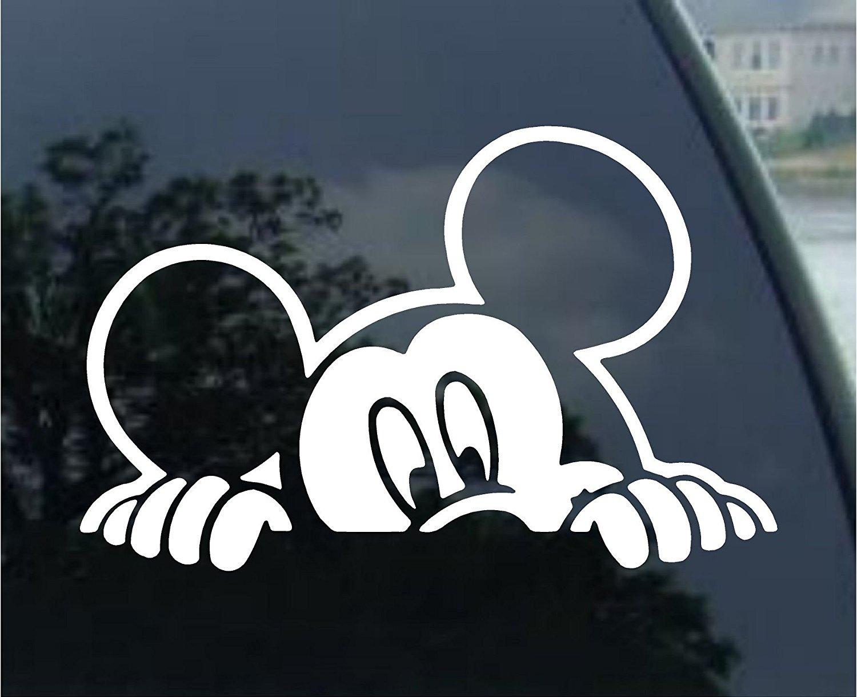 Disney Mickey Family Window Decals Custom Stickers