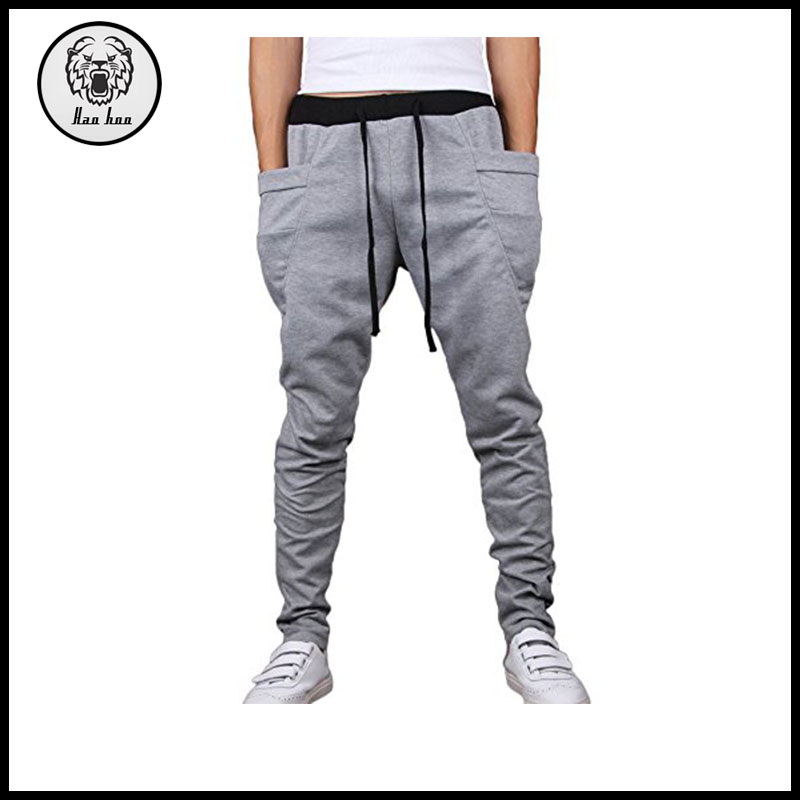 Mens Jogging Pants Tracksuit Bottoms Training Running Trousers
