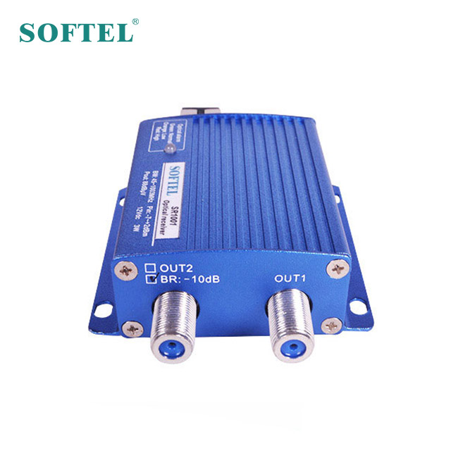 [Softel] Cina pemasok HFC optik node kuat optik penerima mini ftth node optik