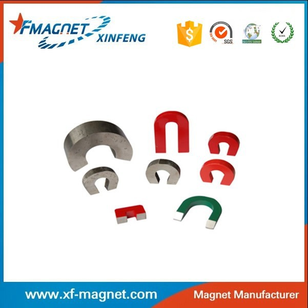 AlNiCo Magnet Print red Strong U shape