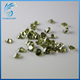 synthetic peridot cz stone standard heart shape cutting cubic zirconia