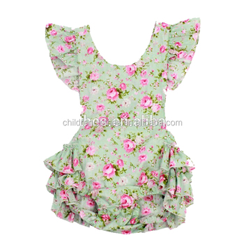 9c7d402df Baby Bubble Romper Vintage Outfit Baby Girl Romper Birthday Sets Baby  Shower Gift