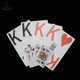 High quality custom large plastic jumbo playing cards pvc poker