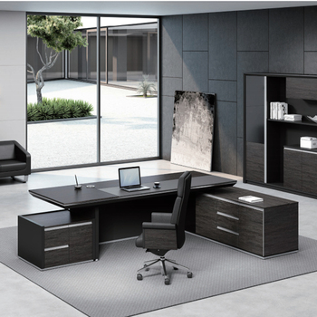 High End Office Desk And Chair Boss Furniture Executive