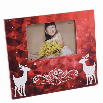 Wholesale Wooden Picture Frame Christmas Ornaments For Holiday Buy