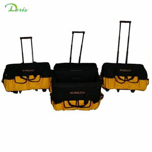 Homejoy 20'' polyester heavy duty rolling tool bag