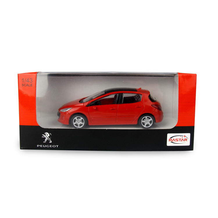 RASTAR Peugeot 308 licensed diecast model car toy for collection for kid