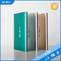 promotional nejifu brand digital display power bank 20000mah