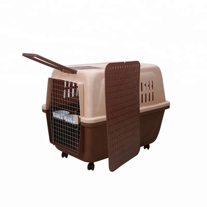 IATA conformity factory direct sale indoor pet dog cage air travel dog cage