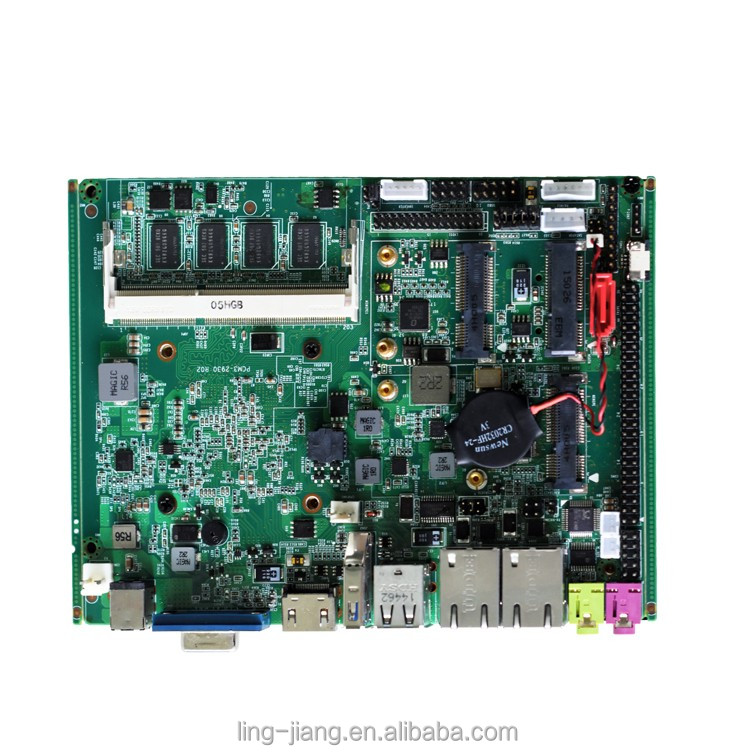 J1900 mainboard with 2GHZ CPU 4 lan ports mini itx industrial motherboard