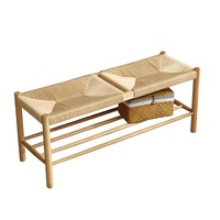 China made restaurant dining room bench with a cord seat