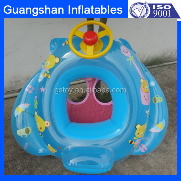 custom Infant Inflatable Aid Trainer Float Baby Swimming Seat Pool Car