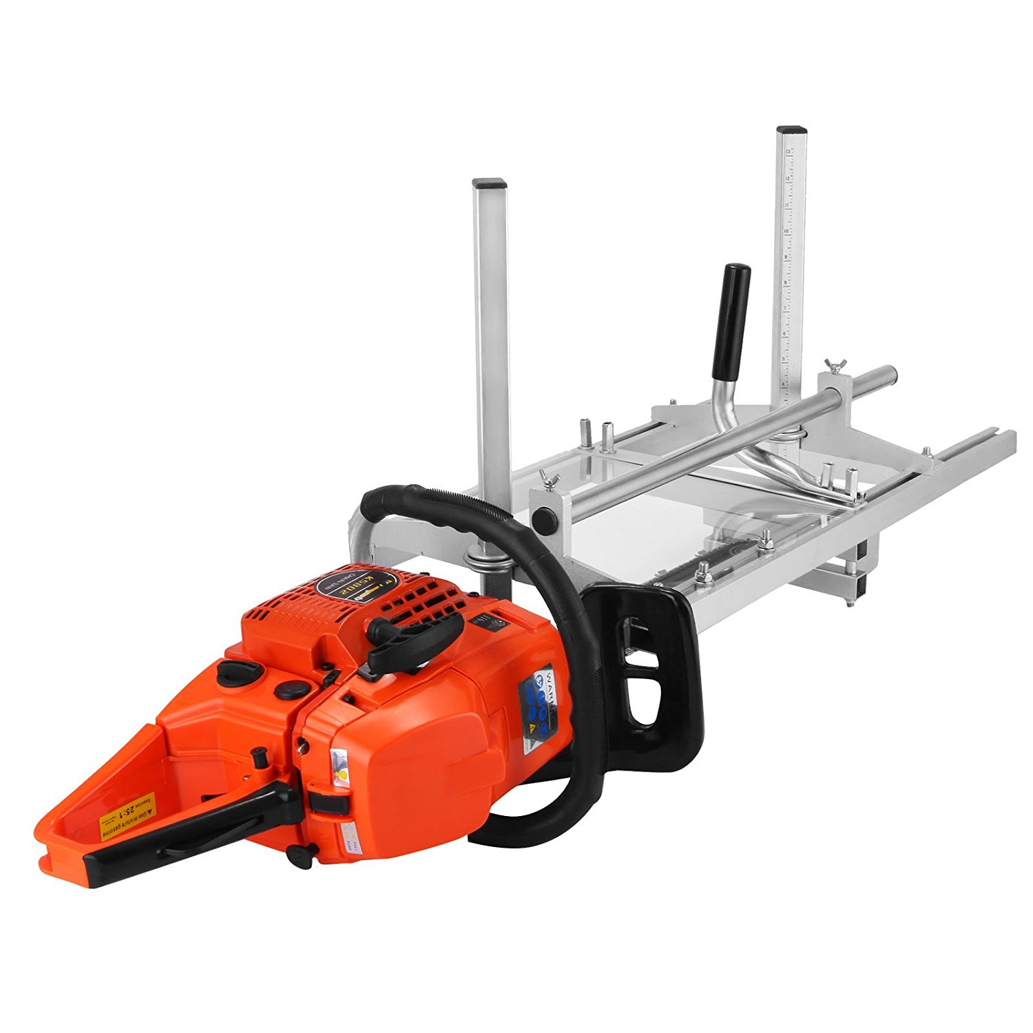 """Vinbero 14 Inch - 36 Inch Saw Mill Portable Chain Sawmill Attachment Planking Milling Cutting Guide Bar Fits for Chainsaw Bars up to 14""""-36"""" (Chainsaw not Included)"""