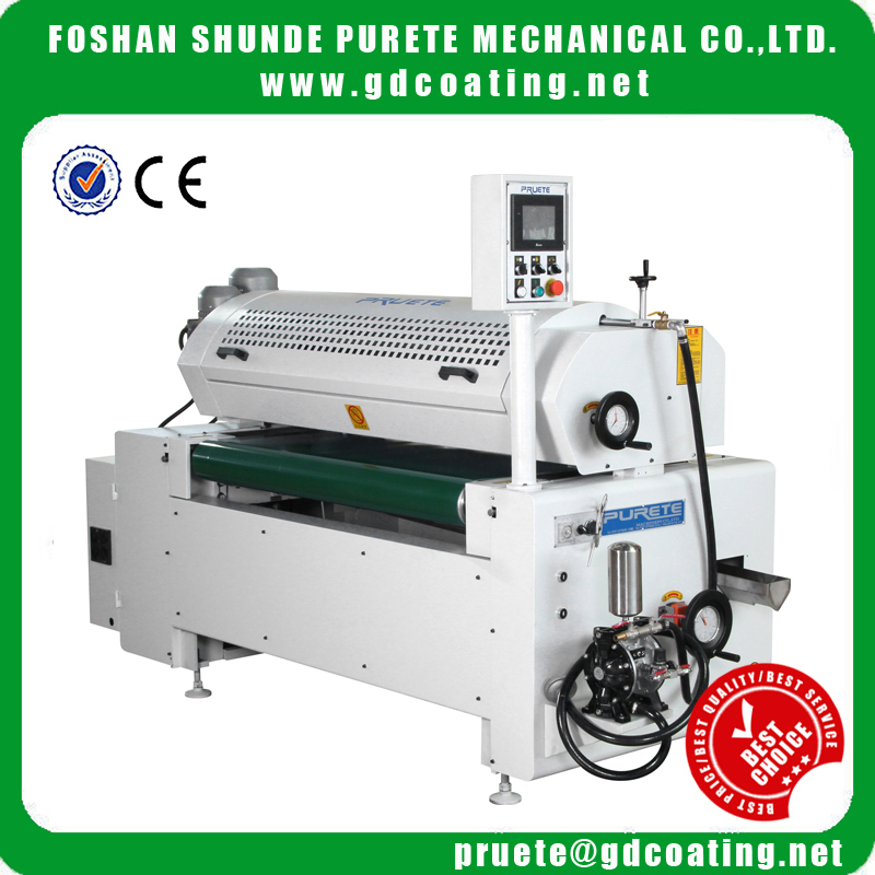 best quality single uv roller coater