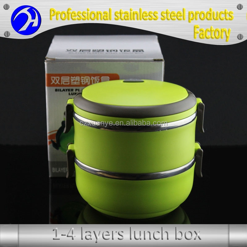 Hotsale Stainless Steel lunch food carry box bento box with cheap price