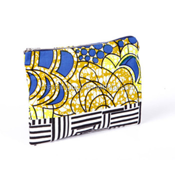 Custom African fabric Printed Oversized Clutch Bags
