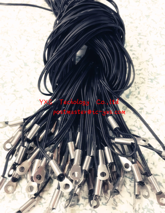NTC temperature sensor wires 5K 10K 100K 10K thermistor with fixed head B value of 3950 1%