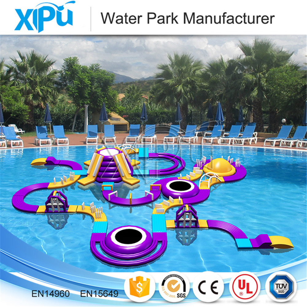 Big inflatable water park equipment price for sale , water park toys