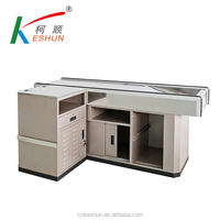 Stainless steel checkout counter cashier counter modern shop checkout counter design