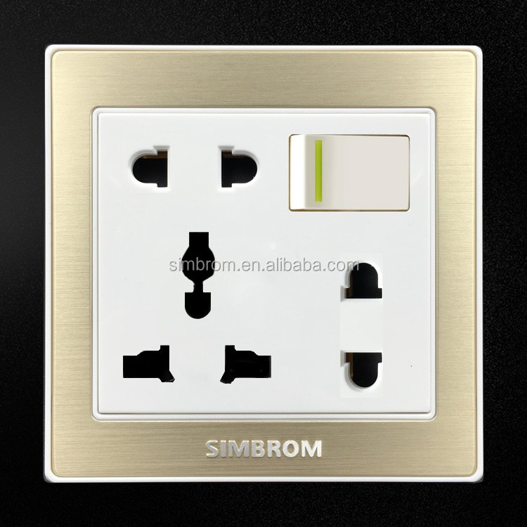 Newest High Quality Low Price Bangladesh 8 Pin Universal Electric Wall  Switch And Socket - Buy High Quality Electric Wall Switch And Socket,High  Quality ...