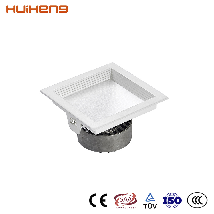Good Quality Cheapest Dimmable 15W 20W Square 140Mm Cut Out COB Down Light Recessed LED Downlight