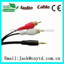 Good Speed 30-pin to 5 rca+usb cable High Quality