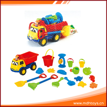 Outdoor plastic summer beach digger bucket play set sandbox toys