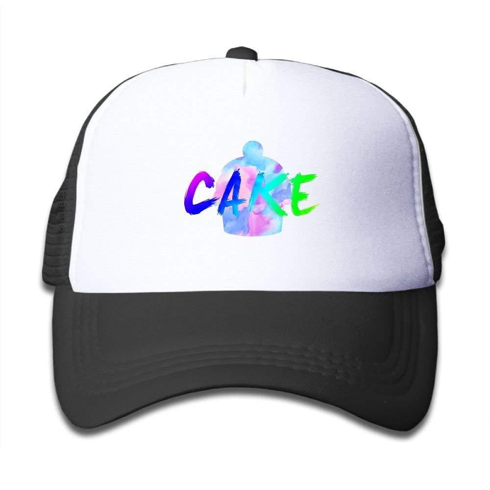 89c01ef2b1d Get Quotations · SDRG5 Prismatic Triangle Cake Child Baby Kid Adjustable  Trucker Hat Summer Snapback