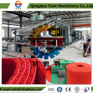 High quality PVC coil mat/car met making machine