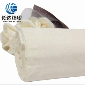 100%cotton fabric 200gsm unbleached fabric the original material fabric