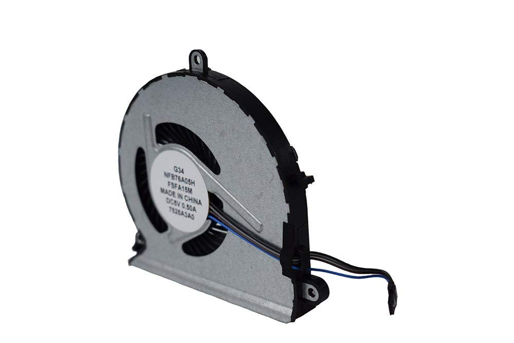 New Cooler For HP Pavilion 15-AU 15-AU000 15-AU100 Series CPU Cooling Fan 4-Pin 4-Wire P/N:856359-001 859633-001