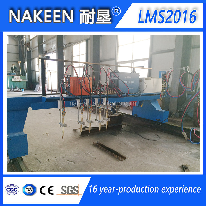 Multi-Torch CNC Plasma Gas Cutting Machine