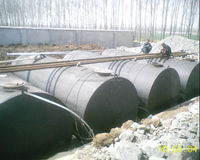 double layer oil tank