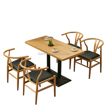 New Style Restaurant Furniture Modern Wood Faux Leather Chair And Tea Table  Set Colorful Dining Room Chairs - Buy Modern Wood And Leather Chair,Faux ...
