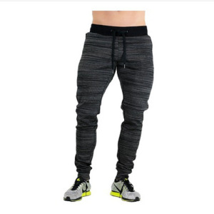 Wholesale Men Muscle Sweat Pants Cotton Feel Gym Fitted Wear Mens Joggers For Training Work Pants