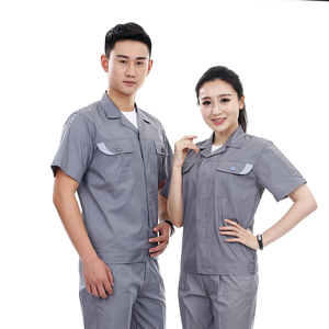 customized unisex workwear uniform high quality work clothes manufacturer China breathable industrial uniforms guangzhou