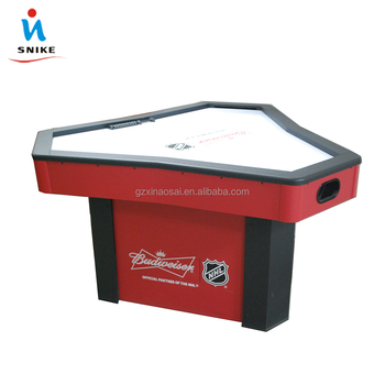 Merveilleux Wooden Air Hockey Table For 3 Person Indoor Playing