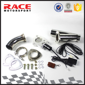 "Remote Control Exhaust 3"" Electric Y-Pipe Exhaust Cutout"