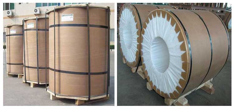 Wood Grain Prepainted Aluminum Colour Coated Coil Stock