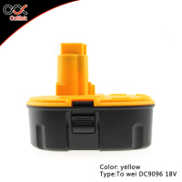 Dewalt 18v 3000mAh battery Replacement Power Tool Rechargeable Battery Packs for Dewalt DC9096, DW9096, DE9095, DE9096, DE9098