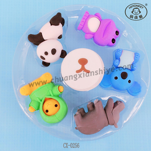 Fashion Stationery Cute Promotional 3D Iwako Erasers for Kids