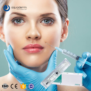 Aquaderm injectable facial fillers hyaluronic acid on sale