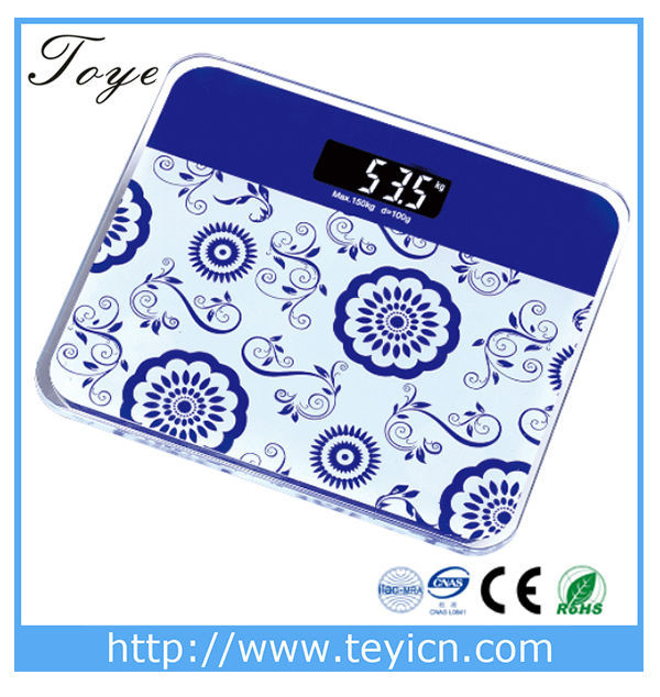 Toye digital electronic weight scale body weighing scales personal scale (TY--2012A--) yongkang factory