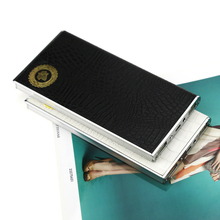 The business mobile powerbank 8000mah Alligator leather rohs power bank