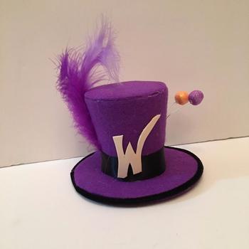 De Chocolate De Willy Wonka Fábrica Mini Sombrero Elegante Vestido De Halloween Los Niños Adultos Am428 Buy Sombrerosombrero De Halloweenmini