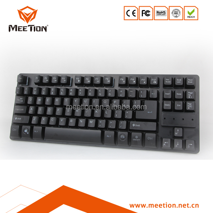 Fashion 87 Keys Mini Keyboard Mechanical