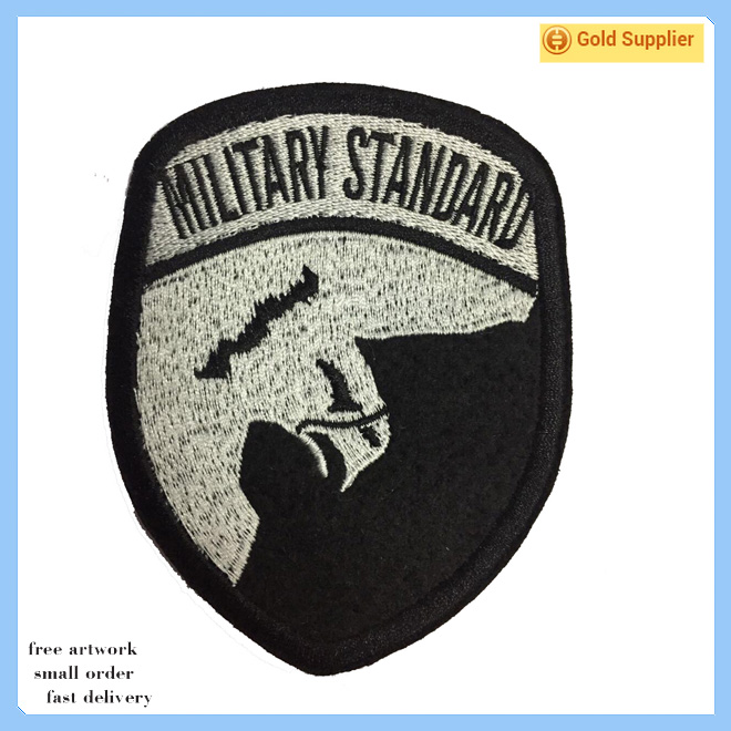 Cheap custom design eagle embroidered patches